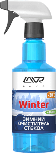 LAVR Glass Cleaner Anti Ice 500мл Ln1301